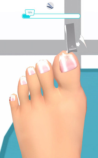 Foot Clinic - ASMR Feet Care 1.4.1 screenshots 7