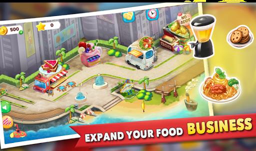 cooking story : food truck game screenshot 2