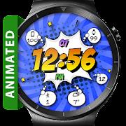 Comic Pow HD Watch Face Widget & Live Wallpaper