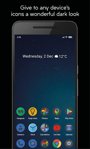 Download APK: Darkful Icon Pack – Theme for Apex/Nova Launcher v3.0.1 [Patched]