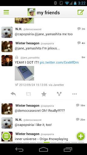Janetter Pro for Twitter screen 0
