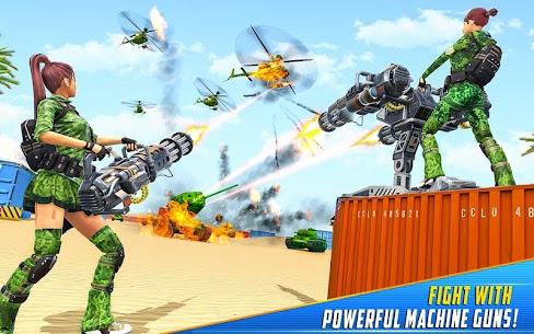 Real Commando Shooting Strike Mod Apk (God Mode/Dumb Enemy) 8