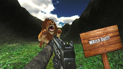 lion hunting sniper shooting screenshot 1