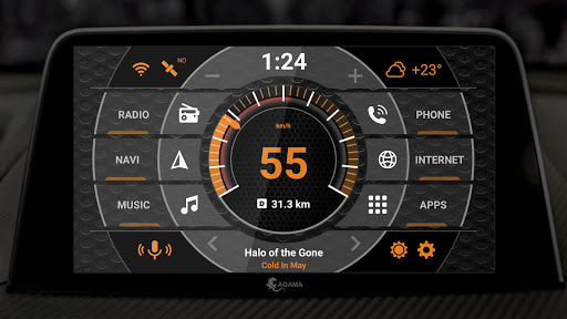 AGAMA Car Launcher 2.6.0 Screenshots 2