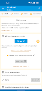 FairEmail, privacy first email 1.1677 Screenshots 1