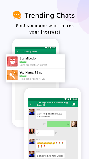 MiChat Lite - Free Chats & Meet New People 1.3.149 Screenshots 3