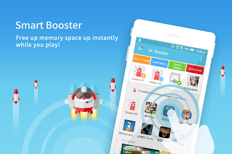 Dr. Booster - Boost Game Speed Screenshot