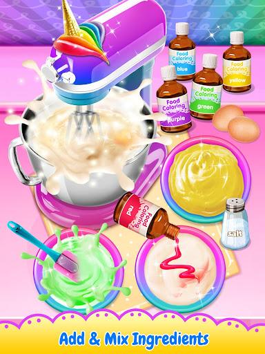 Unicorn Poop - Sweet Trendy Desserts Food Maker screenshots 1