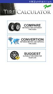 Tire Size Calculator 4.6