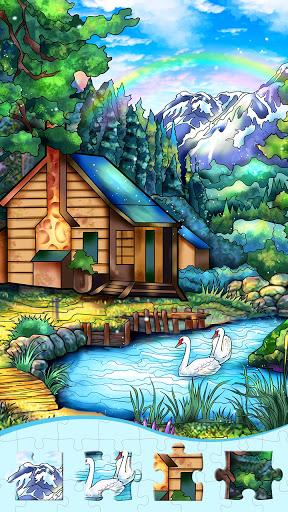 Fun Jigsaw Puzzles, HD Magic Jigsaw Puzzles Games  screenshots 3
