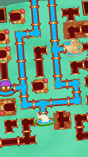 Plumber World : connect pipes (Play for free) screenshots 3