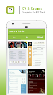 Resume Builder App – CV Maker & Resume Creator 2.3 Mod + APK (Data) Latest 2