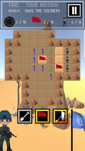 Trooper Sam - A Minesweeper Adventure apkpoly screenshots 14