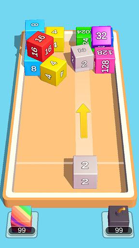 2048 3D: Shoot & Merge Number Cubes, Block Puzzles Screenshots 5