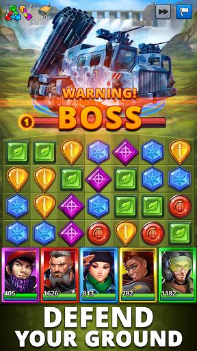 Puzzle Combat: Match-3 RPG Apkfinish screenshots 7