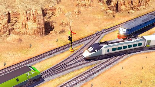 City Train Simulator 2021 New u2013 Offline Train Game 2 screenshots 4