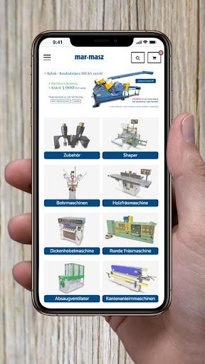 mar-masz holzbearbeitungsmaschinen screenshot 1