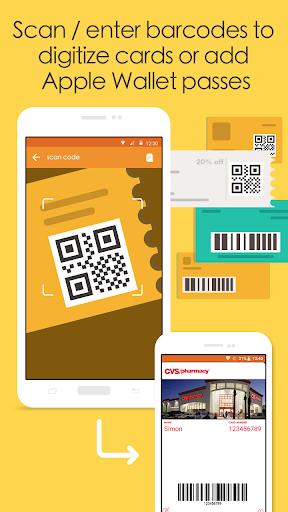 Pass2U Wallet - store cards, coupons, & barcodes 2.12.5 Screenshots 1