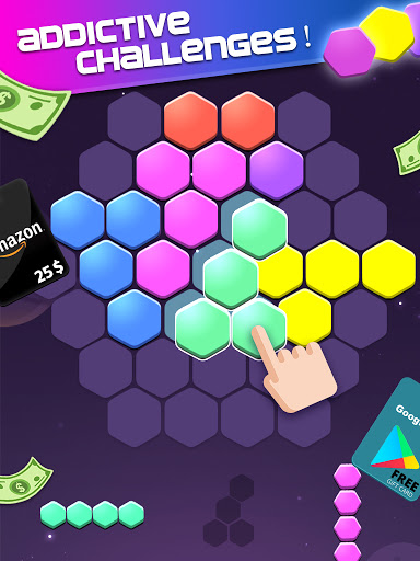Lucky Hexa! u2013 Hexa Puzzle & Block Puzzle Big Win apkpoly screenshots 10