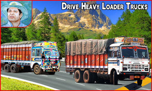 Heavy Cargo Truck Simulator 2021 - New Truck Games apkpoly screenshots 1