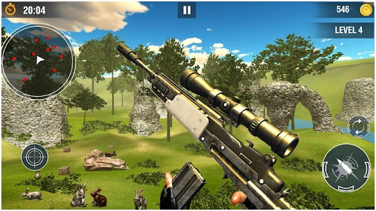 Wicked Rabbit Hunting Sniper Free Shooting Games Hack Cheats (iOS & Android) 1