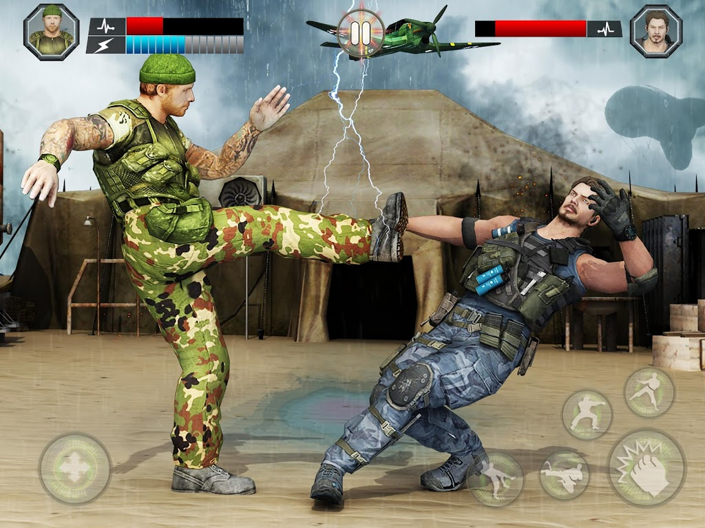 US Army Fighting Games: Kung Fu Karate Battlefield  poster 11