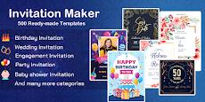 Invitation maker 2020 Birthday & Wedding card Freeのおすすめ画像1