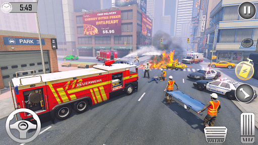 Firefighter Games : fire truck games  screenshots 14