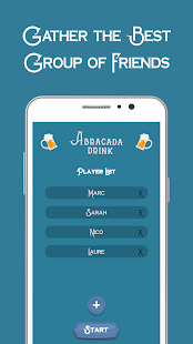 Abracada Drink - Drinking game for parties !