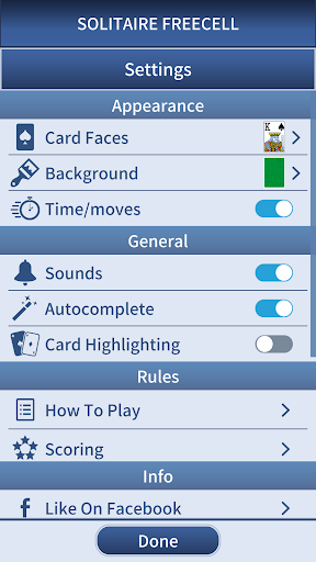 FreeCell Solitaire Classic u2013 u2663ufe0fu2666ufe0fu2665ufe0fu2660ufe0f Card Game 1.1.1.RC Screenshots 3