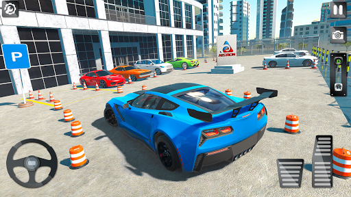 Car Parking eLegend: Parking Car Driving Games 3D android2mod screenshots 3