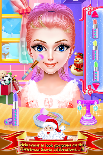 Christmas Girls Makeup & Hair Salon DressUp Games 1.0.18 screenshots 13
