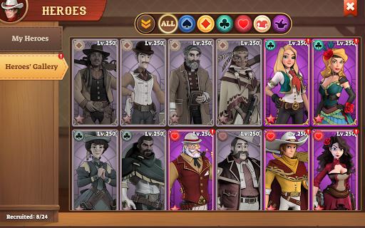 Wild West Heroes apkpoly screenshots 16