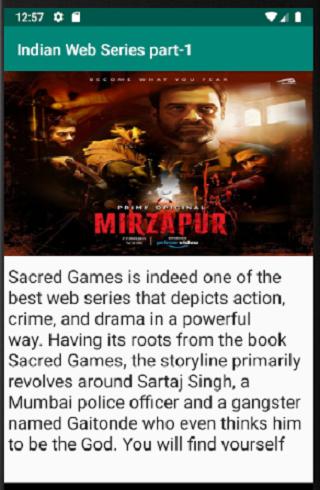 Indian Web Series part-1 screenshot 2