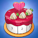 Cake Coloring 3D - Paint by Number
