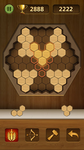 Wood Block Puzzle 2021 - Wooden 3D Cube Puzzle Gem goodtube screenshots 4