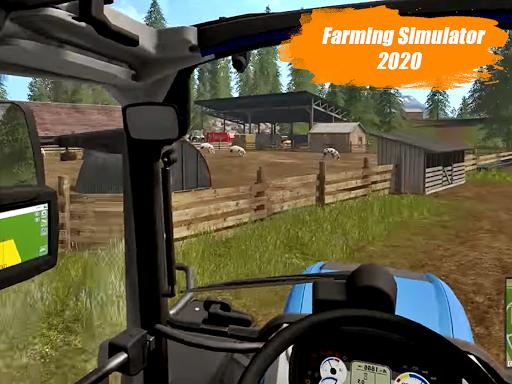 Heavy Duty Tractor Farming Driving Simulator 2020 1.0 Screenshots 4