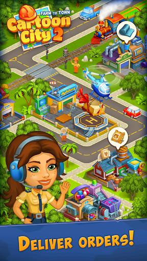 Cartoon City 2:Farm to Town. Build your dream home 2.20 screenshots 12