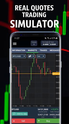 Forex Royale - Trading Simulator  screenshots 1