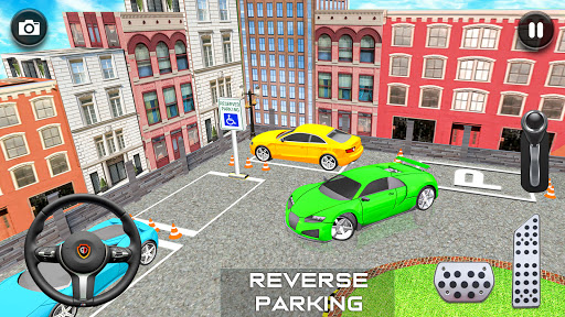 Modern Car Parking Drive 3D Game - Free Games 2020 android2mod screenshots 14