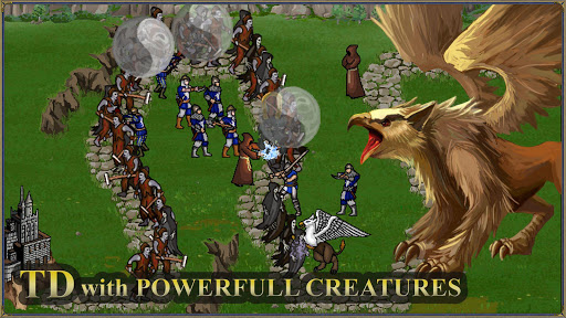 Heroes 3 and Mighty Magic: Medieval Tower Defense screenshots 2