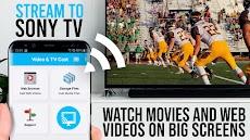 Video & TV Cast Pro for Sony TV | Cast Web Videosのおすすめ画像1