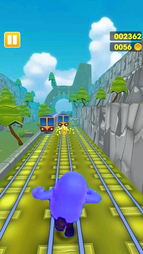 Subway Fall Run Guys 1.0 screenshots 4