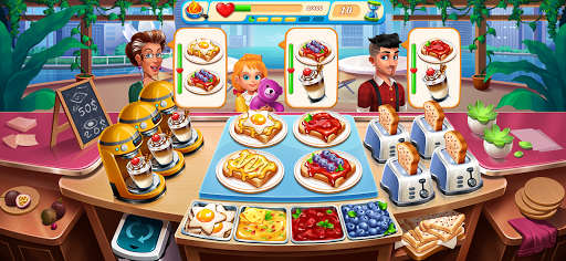Cooking Marina - fast restaurant cooking games android2mod screenshots 14