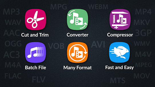 Video Converter, Compressor MP4, 3GP, MKV,MOV, AVI 1