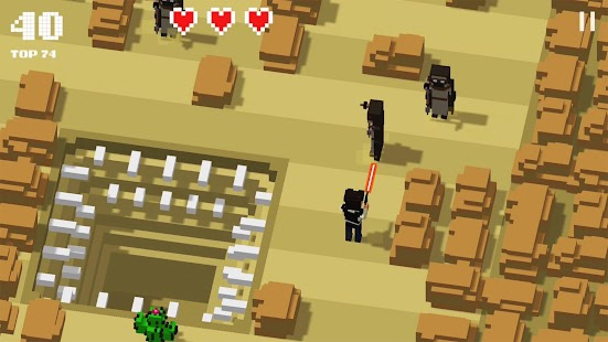 Galaxy Hoppers: Crossy Wars Screenshot