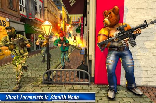Teddy Bear Gun Strike Game: Counter Shooting Games 3.2 screenshots 2