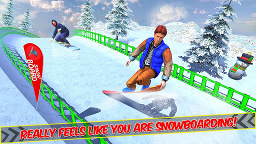 Snowboard Downhill Ski: Skater Boy 3D screenshots 4