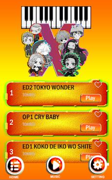 Game Piano - Kimetsu no Yaiba x Tokyo Revengersのおすすめ画像2