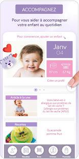 Allergie-Lait App' 1.02 Screenshots 2